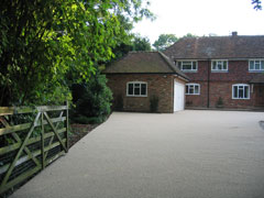 surface dressing stone driveway